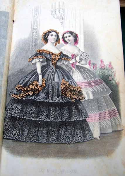 ballgowns from 1859