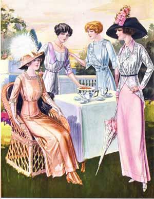 1912 tea party