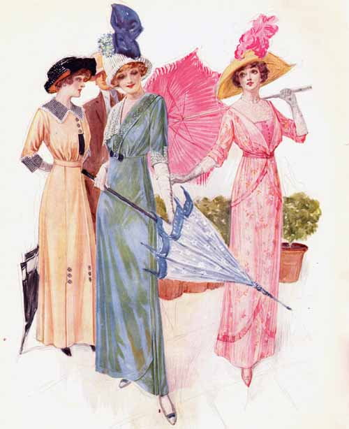 1912 parasols