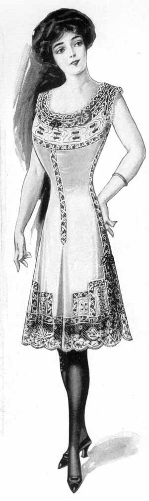 606847c6653b Vintage Victorian: Titanic Ladies' fashions