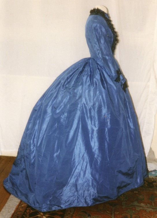Vintage Victorian 1867 Day Dress