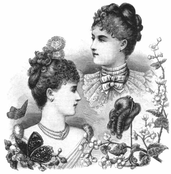 1890s hairstyles