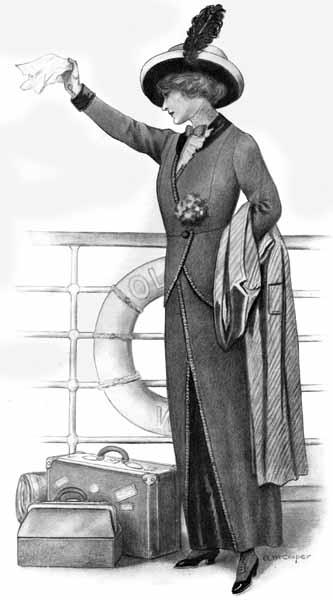 Vintage Victorian Titanic Ladies 39 Fashions